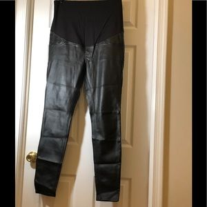 6fe0d01e2aaab Women's Faux Leather Pants Hm on Poshmark